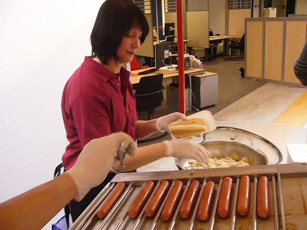 Hotdog personeel huren