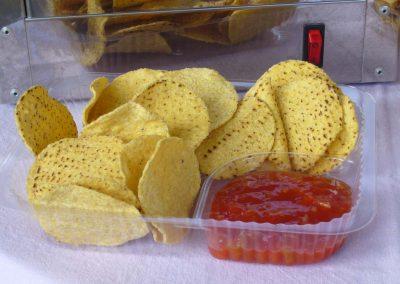 nacho's voor feestje
