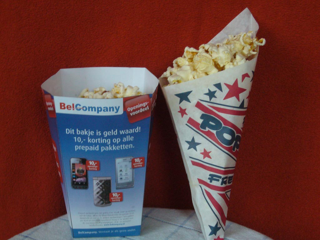 popcorn kraam huren met personeel